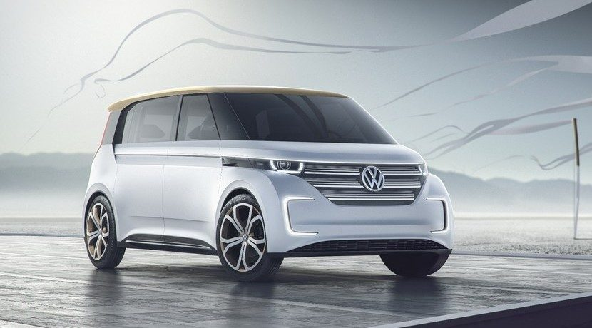 Volkswagen BUDD-E concept frontal