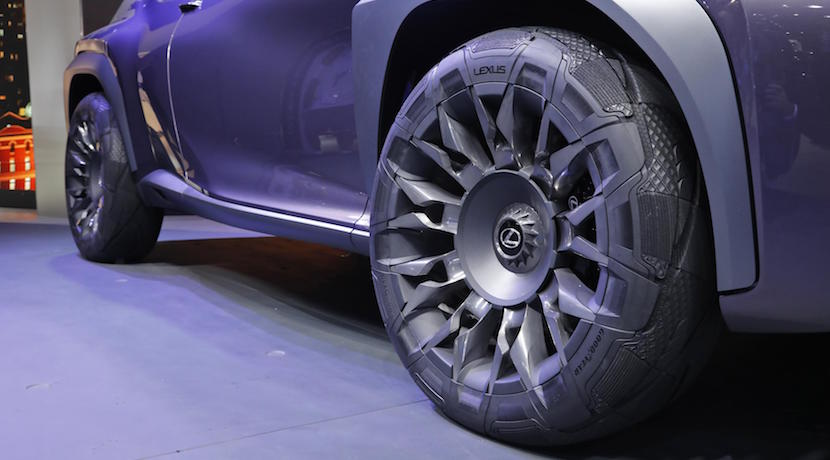 Goodyear Urban Crossover Lexus UX Concept