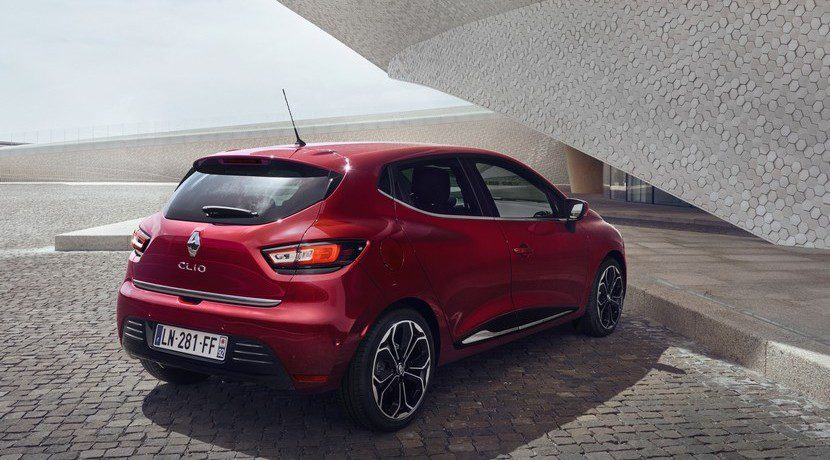 Renault Clio 2016 restyling