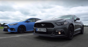ford-focus-rs-vs-ford-mustang-gt