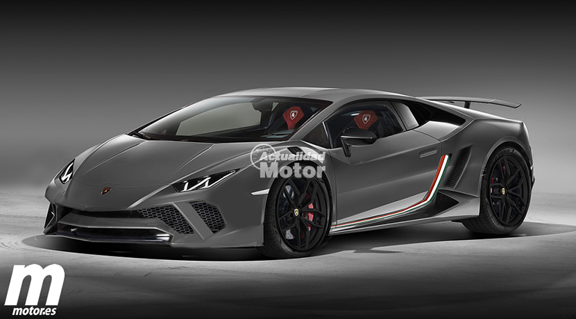 Lamborghini Huracán Performante render