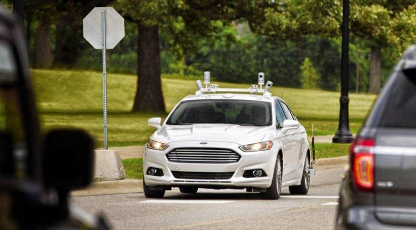 Ford Fusion frontal
