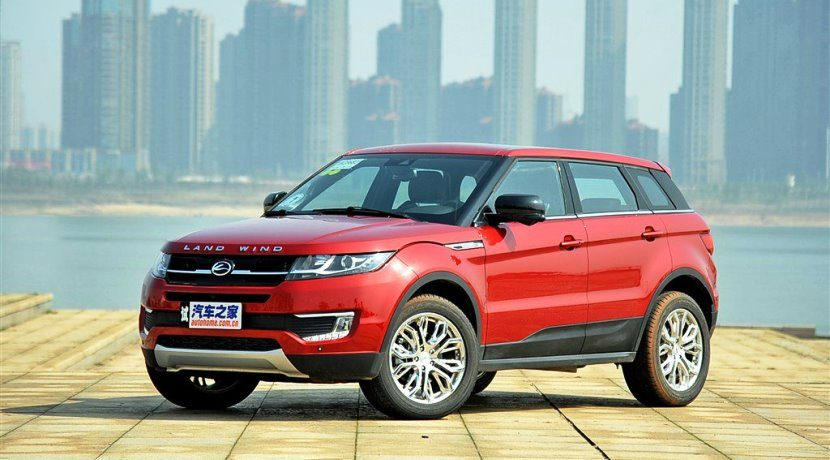 Landwind X7 vs Land Rover Range Rover Evoque