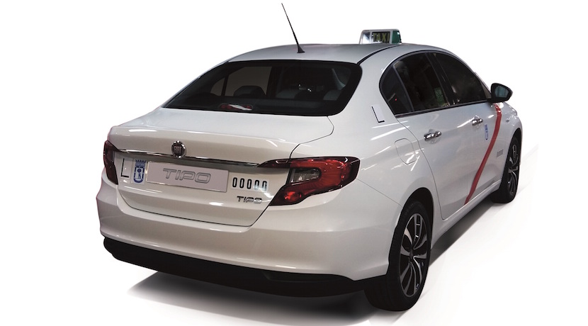 Fiat Tipo taxi Madrid